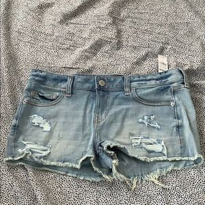 Express Cutt off Jean shorts